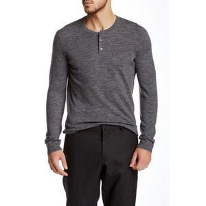 Vince Long Sleeve Wool Henley